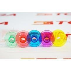 Bobbins / Spool / Bobbin Plastik Warna (Mesin Jahit Portable)