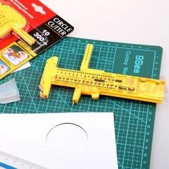 Compass Cutter/Circle Cutter/Pisau Pemotong Lingkaran 9Sea Model 508