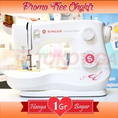 [NEW] Mesin Jahit SINGER 3333 Fashion Mate (Portable Multifungsi)