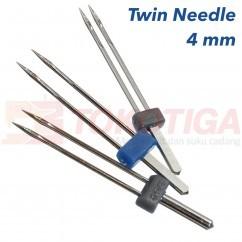 Jual Jarum Double / Dobel / Kembar / Twin Needle Mesin Jahit 4 mm